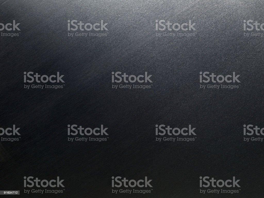 Brushed Sheet Metal at Diagonal with Light to Dark Transition royalty-free stock photo