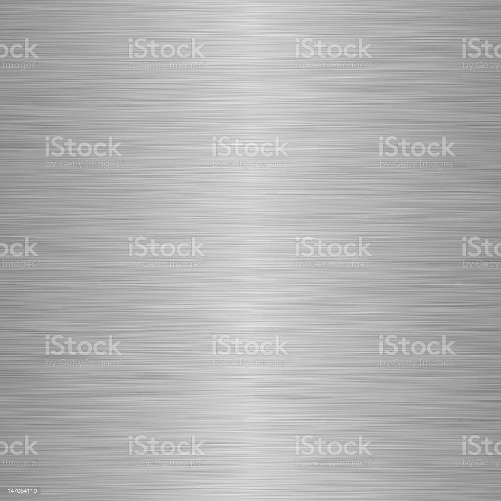 Brushed silver metallic background royalty-free stock photo
