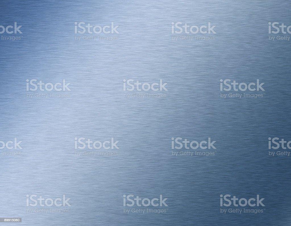 Gebürstetem Stahl Schild Lizenzfreies stock-foto