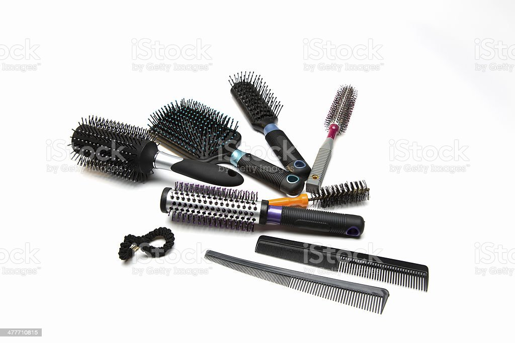Brushes and Combs stock photo