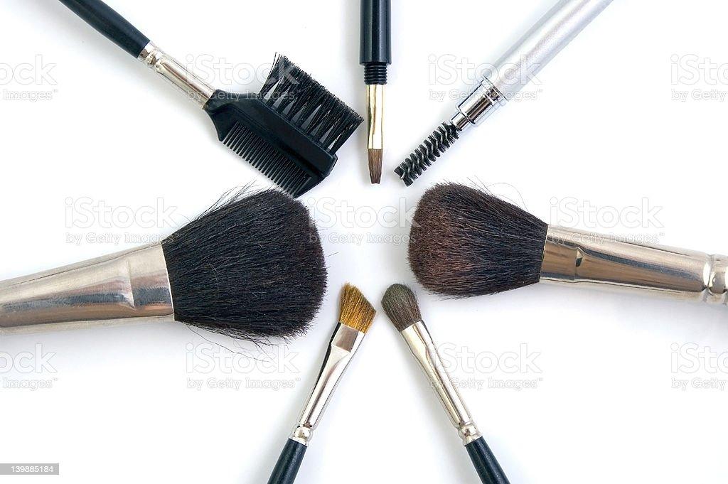 Brushes royalty-free stock photo