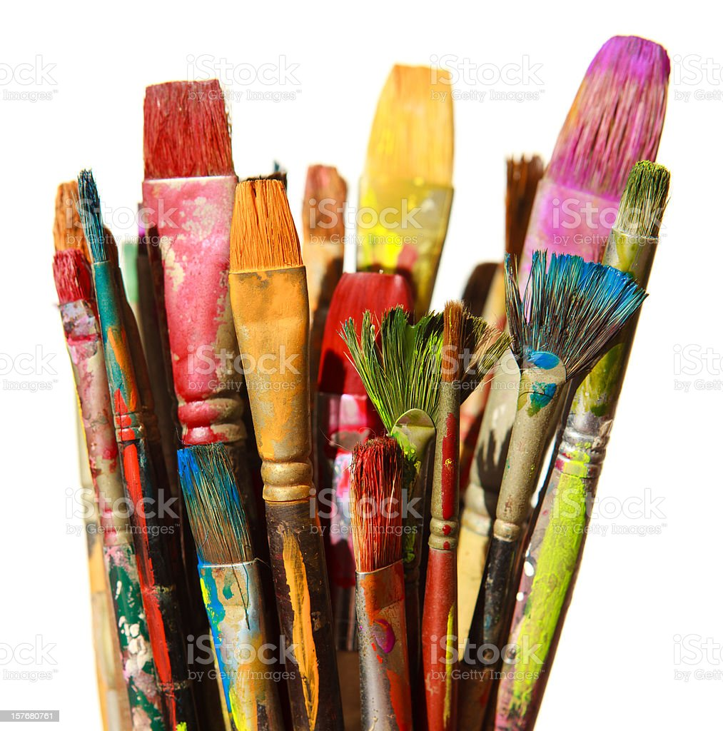 Brushes  Bunch Stock Photo