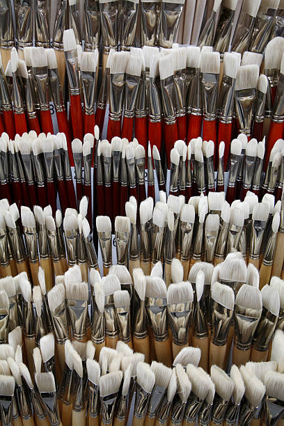Brushes stock photo