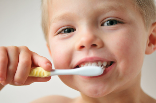 Brushing Teeth Stock Photo - Download Image Now
