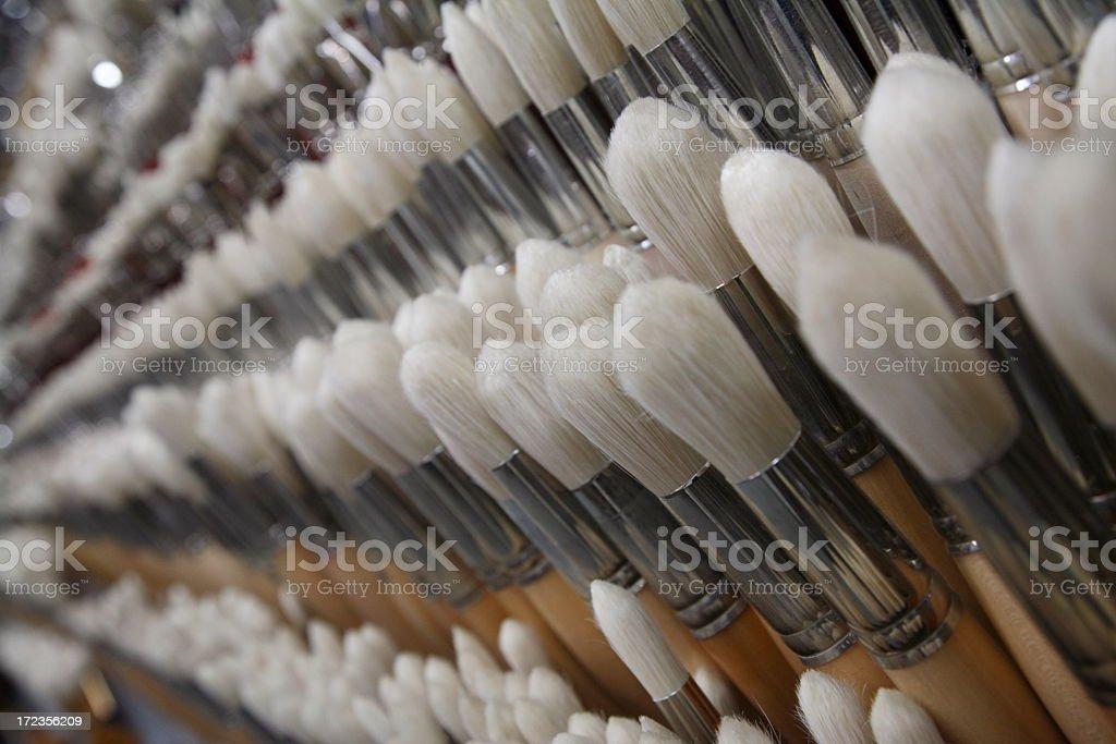 Brushstore royalty-free stock photo