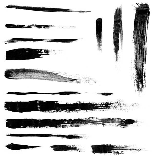 Brushstrokes Grungy brushstrokes. brush stroke stock pictures, royalty-free photos & images