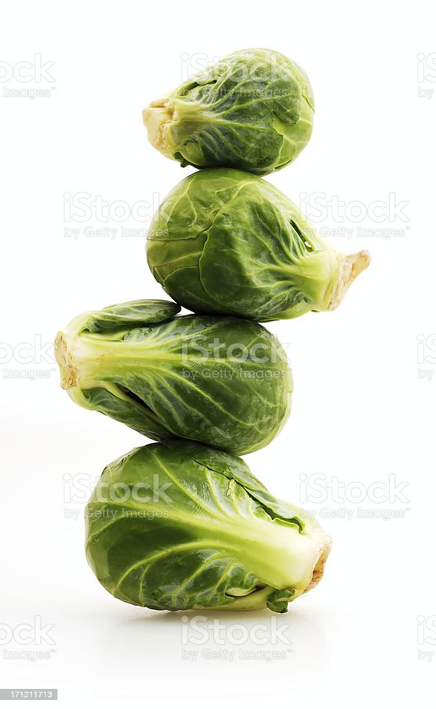 brussel sprouts royalty-free stock photo