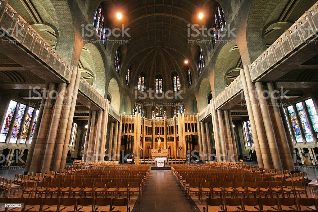 Brussels basilica royalty-free stock photo