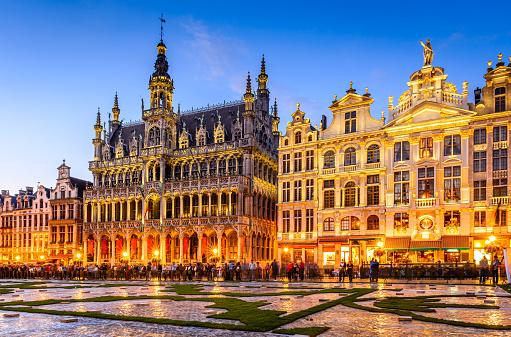 Bruxelles, Belgium - Grand Place twilight
