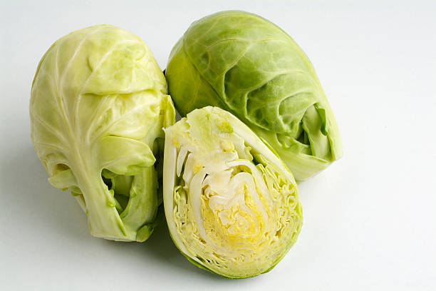Brussels cabbage stock photo