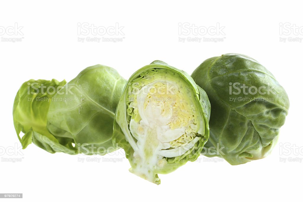 Brussels cabbage royalty-free stock photo