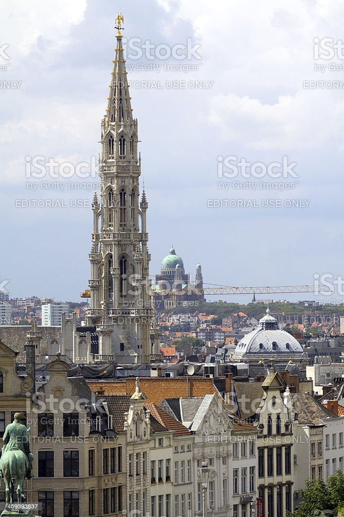 Brussels city royalty-free stock photo