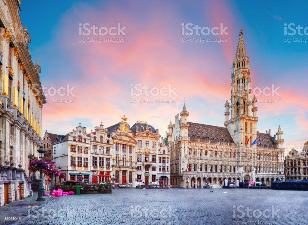 Bruxelles - Grand-place, Belgique, personne ne - Photo