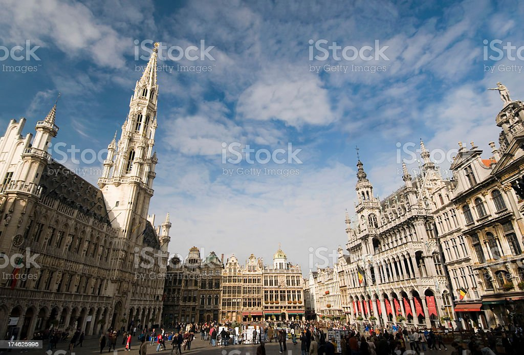 Brussels - Grand Place stock photo