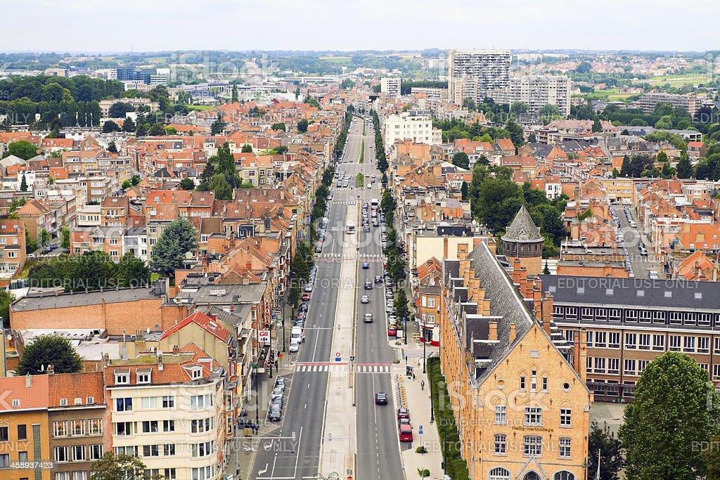 Brussels Koekelberg royalty-free stock photo