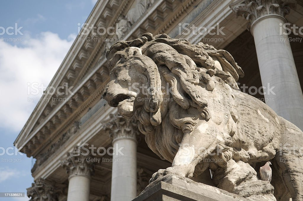 Lion de la Bourse de Bruxelles - Photo