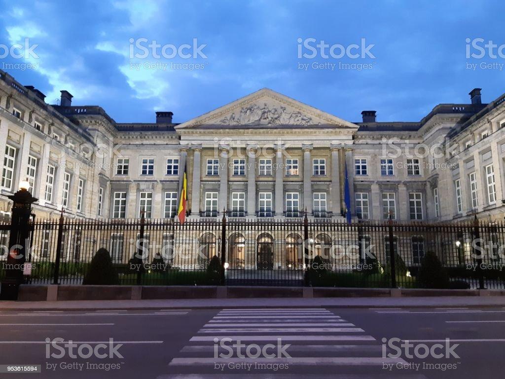 Parlament de Bruselas - foto de stock