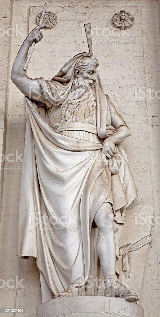 Bruselas-Estatua de montaña - foto de stock