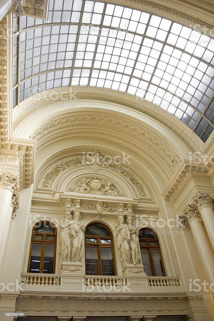Intérieur de la Bourse de Bruxelles - Photo