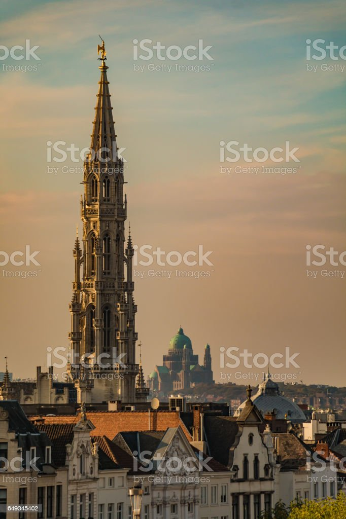 Brussels Town Hall I - fotografia de stock