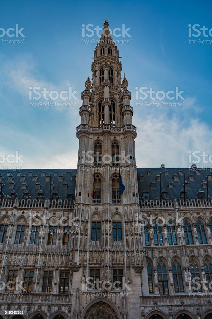 Brussels Town Hall IV stock photo