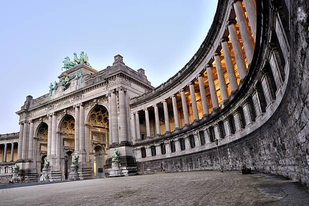 Bruxelles Memorial Arch dans le Parc, Jubelpark Cinquantenaire - Photo