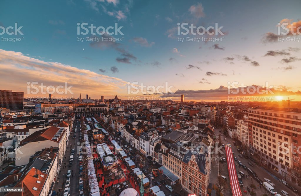Vue de Bruxelles - Photo