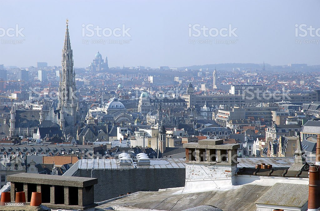 Brussels*Belgium stock photo