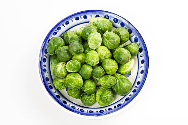 Brussles sprouts. stock photo