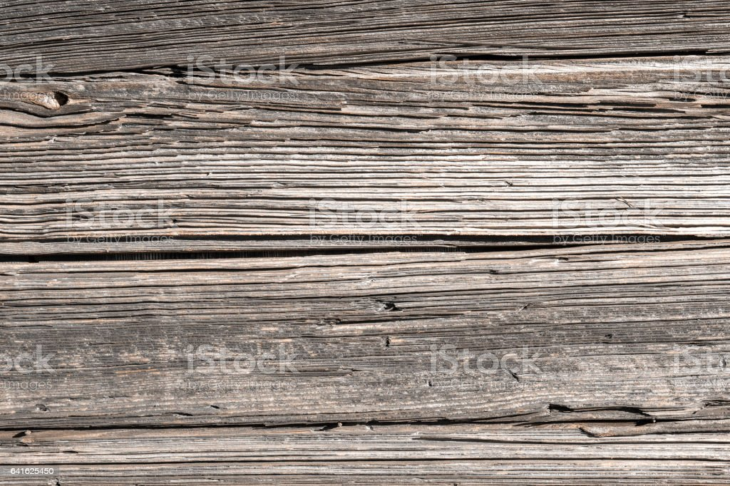 Brut old knotted wood natural background texture full frame stock photo