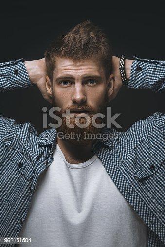 542972720 istock photo Brutal bearded man 962151504