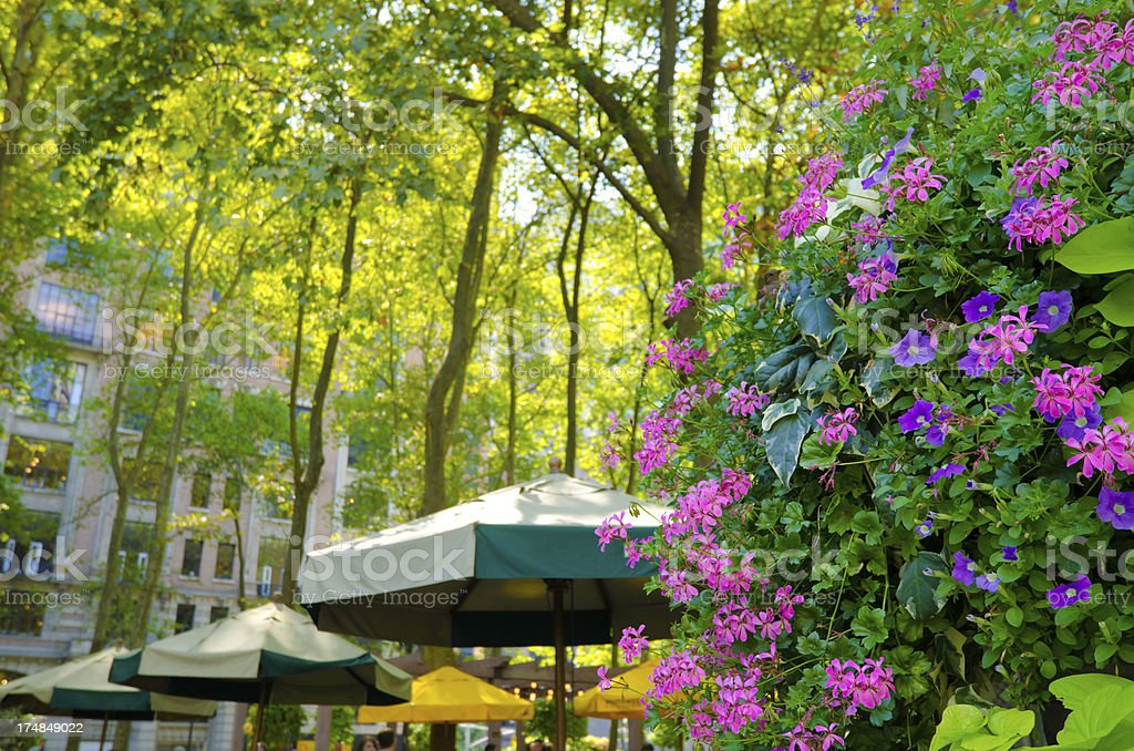Bryant Park at Lower Midtown Manhattan in New York City stock photo