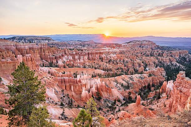 Bryce Canyon Amphitheater At Sunrise – Foto