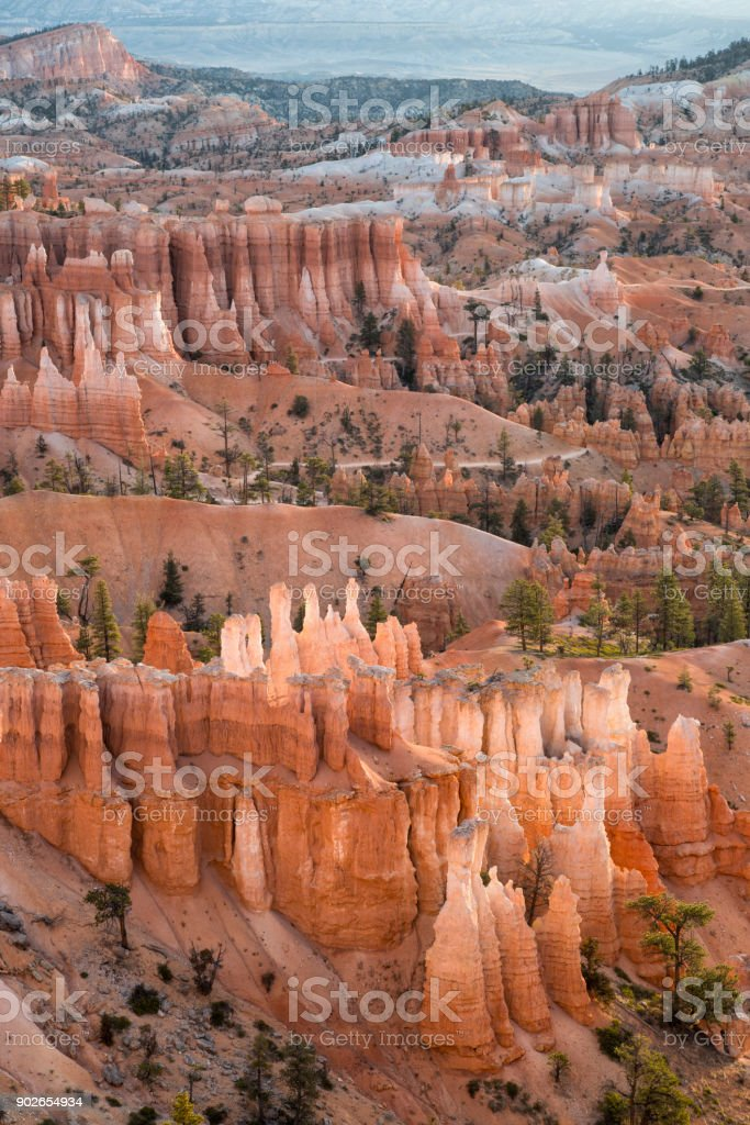 Bryce Canyon Morning View stock photo