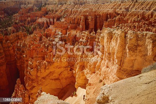 Bryce Canyon National Park hiking trail