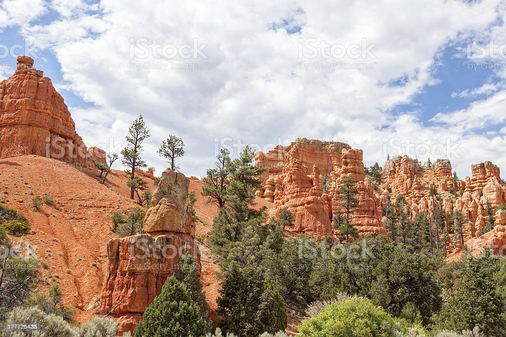 Bryce canyon national park in Utah royalty-free stock photo