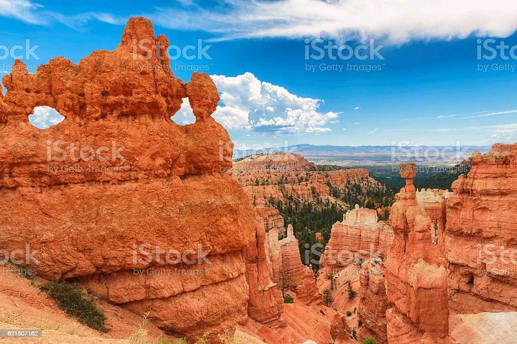 Parco Nazionale Bryce Canyon in Utah foto stock royalty-free
