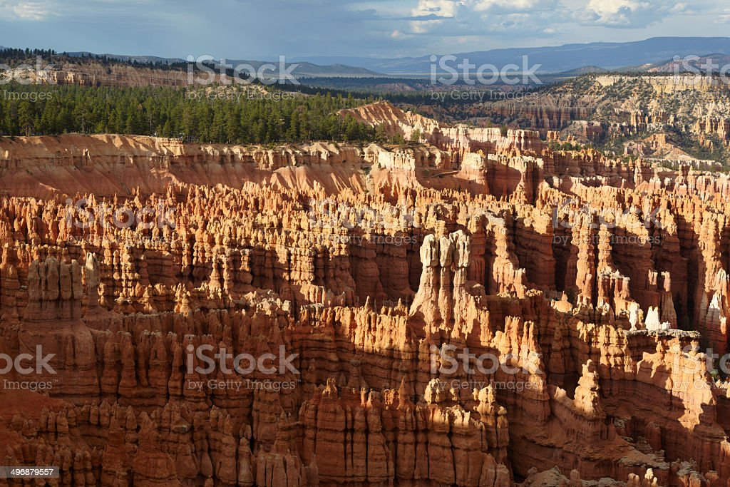 Bryce Canyon National Park : Inspiration Point royalty-free stock photo