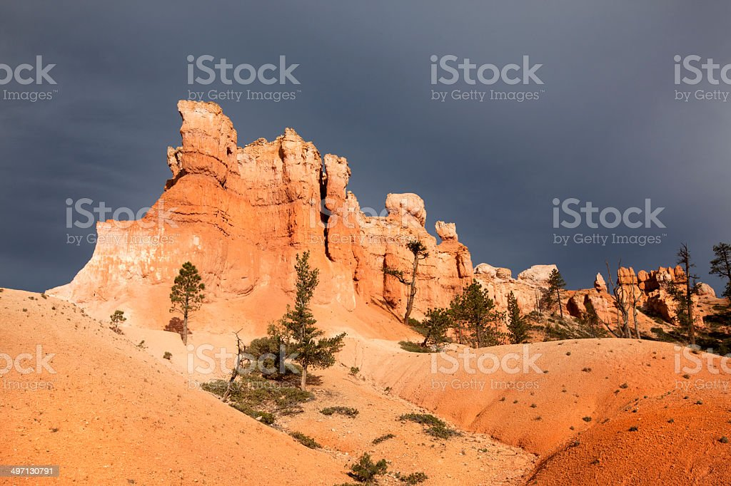 Bryce Canyon National Park : Peekaboo Trail royalty-free stock photo