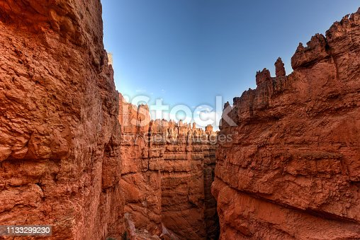 The Amphitheater in Bryce Canyon National Park in Utah, United States.