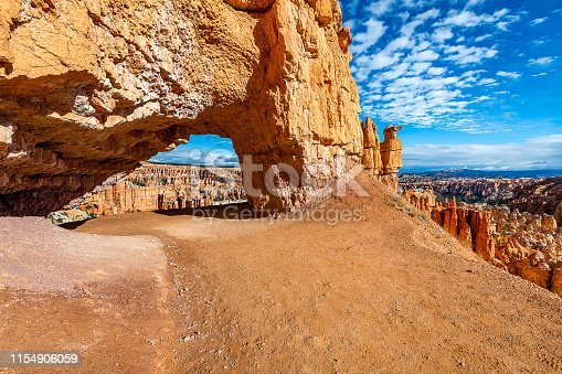 The stunningly beautiful geological features of Bryce Canyon and its vibrant hoodoos, fins, spires, pinnacles, and rock walls.