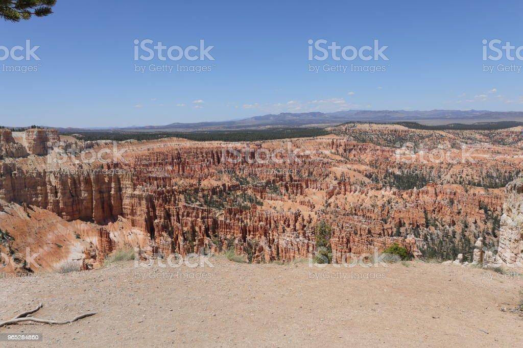 Bryce canyon national park - Zbiór zdjęć royalty-free (Bez ludzi)