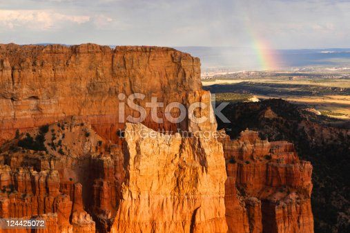 Bryce Canyon National Park Paria View Overlook Rainbow