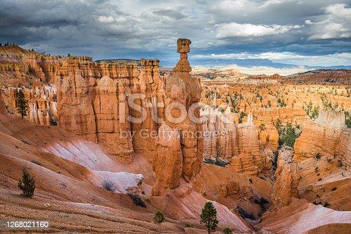 istock Bryce Canyon National Park, Utah at Thor's Hammer 1268021160