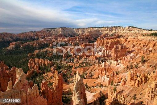 Hoodoo landscape of Bryce Canyon National Park, Utah.