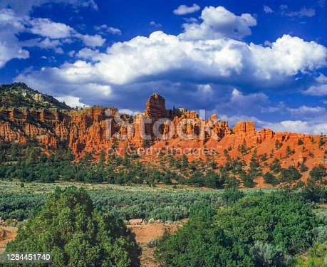 RED CANYON IN BRYCE CANYON