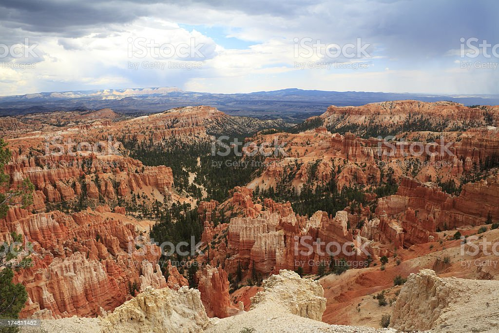 Bryce canyon national park, Utah. USA. royalty-free stock photo