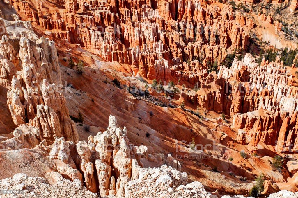 布萊斯峽谷國家公園,猶他州,美國 免版稅 stock photo