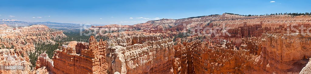 Bryce Canyon Panorama - foto de stock