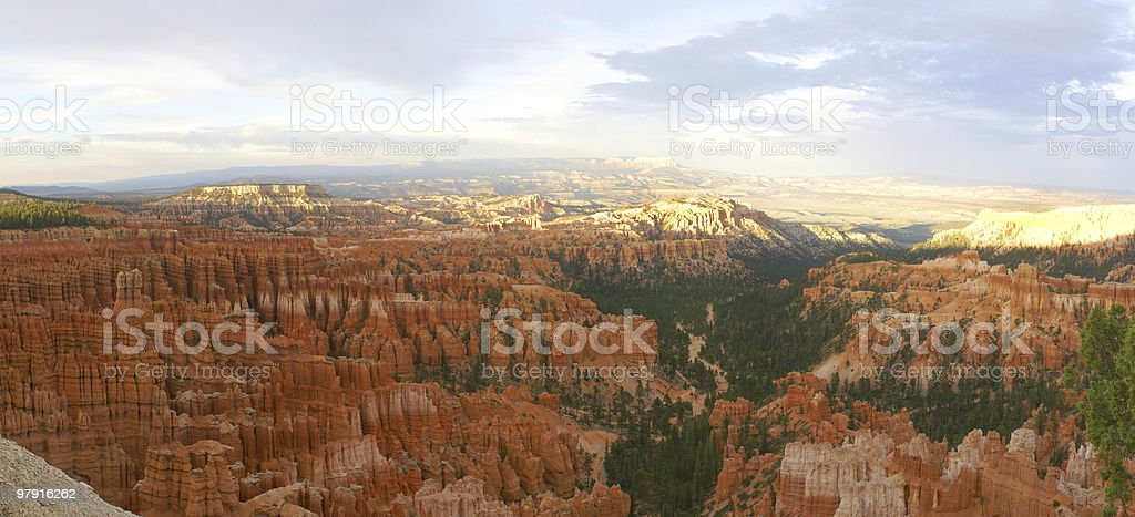 Bryce Canyon Panorama royalty-free stock photo